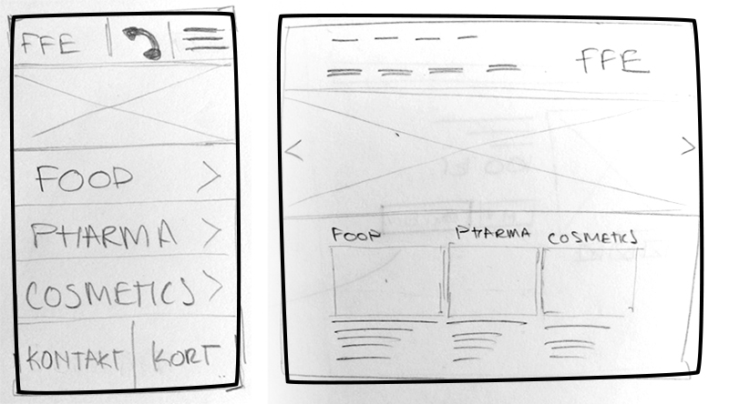 Wireframes stage 1
